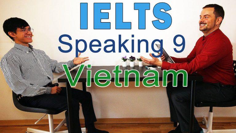 IELTS Speaking Band 9 Vietnam - Team Work - with Subtitles