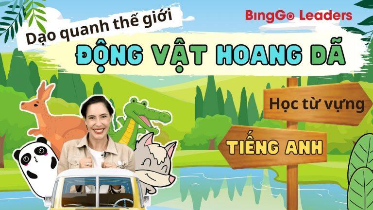 Từ vựng tiếng Anh về động vật hoang dã | Khóa học tiếng Anh cho trẻ em | Học tiếng Anh trẻ em
