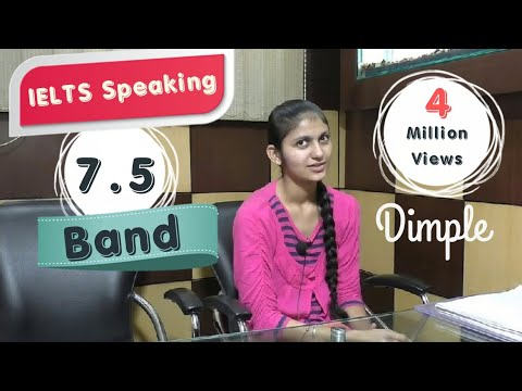 ✔IELTS Speaking Test Sample Band 7.5 Interview - IELTS Speaking Indian Student