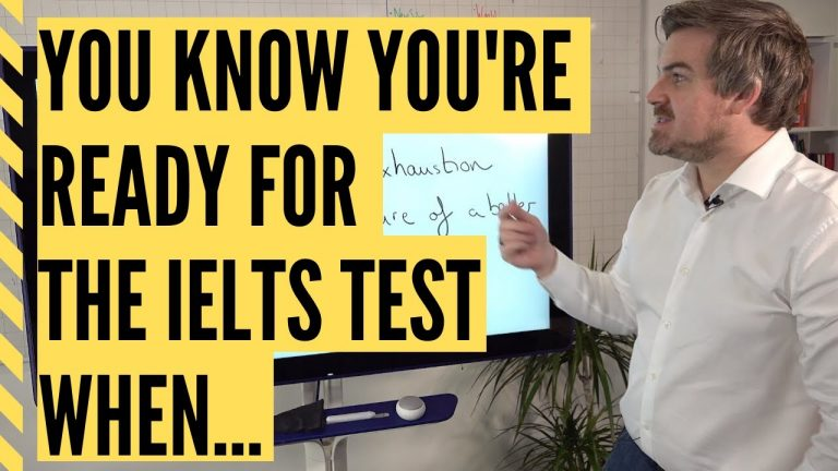You know you're READY for the IELTS test when...