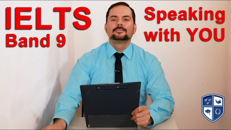 IELTS Band 9 Speaking practice with YOU!