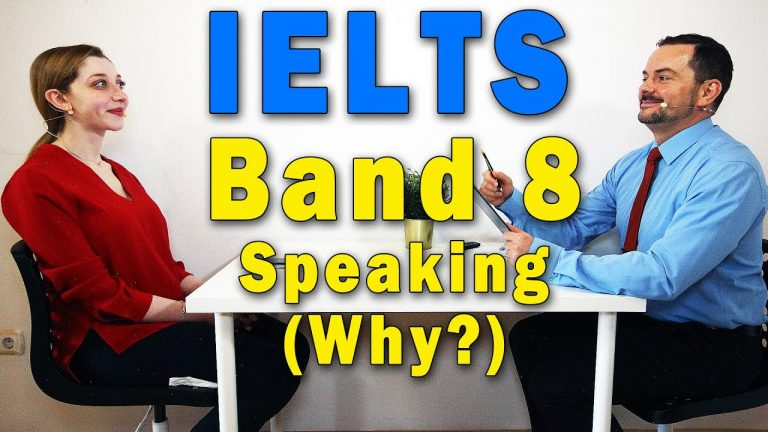 IELTS Band 8 Speaking Books and Shopping - Score Explained