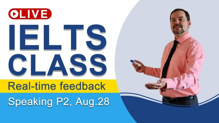 IELTS Live - Speaking Part 2 - Giving Band 9 Long Answers