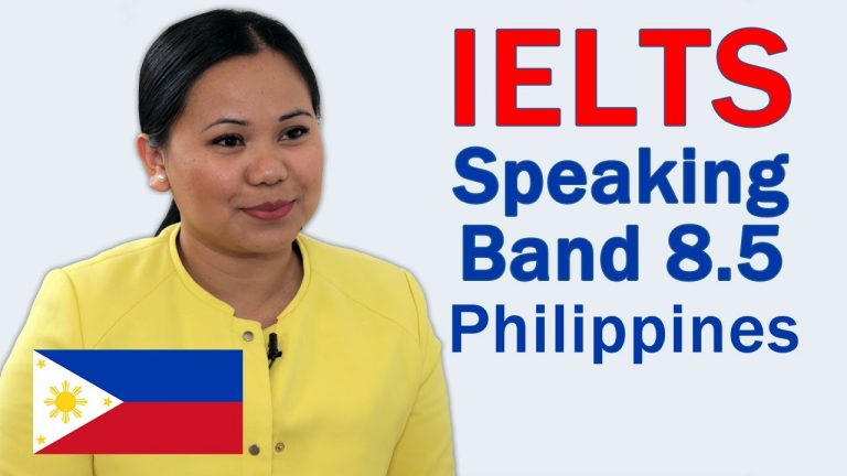 IELTS Speaking Philippines Band 8.5 to 9 Vocabulary and Correction
