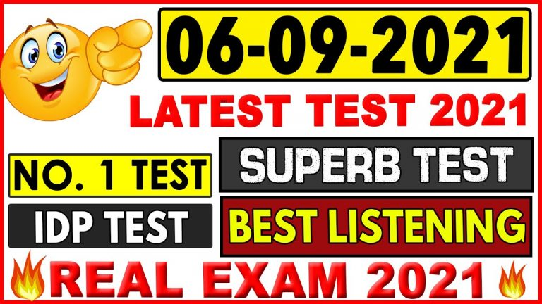 IELTS LISTENING PRACTICE TEST 2021 WITH ANSWERS   06.09.2021