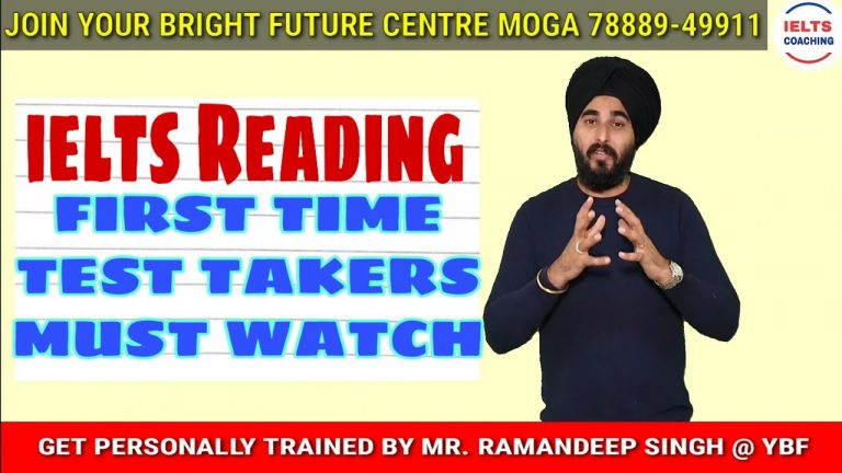 IELTS Reading Test Overview   Ielts General And Academic  Module Question Types