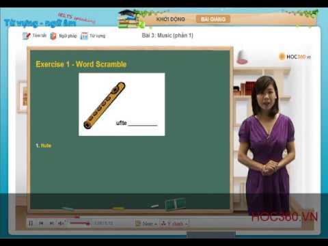 Tự học IELTS Speaking qua từ vựng- Music - P1   TiengAnh.Hoc360.vn